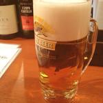 横浜石川町バル - 生ビール(キリン一番搾り)