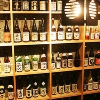 日本酒の品揃いは都内随一!