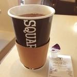 スクエアカフェ - 少し時間空いたので食後のコーヒーと思ったらデカッ!310円