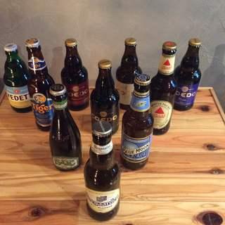 20種類以上のクラフトビール