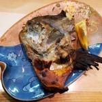 割烹 福源 - 特大マナガツオ頭 西京焼き