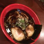 富山ブラック 麺家いろは - ブラックラーメン