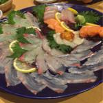 大名やぶれかぶれ - 刺身は新鮮で普通に美味しい(^^)
