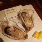 オイスターバー&ワイン BELON - 焼き牡蠣は昆布森のをチョイス