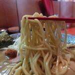 麺処ほん田 - モッチリ中太麺