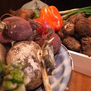 京都、美山の手作りお野菜