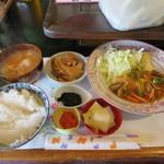 味平 - カレイ野菜あんかけ定食