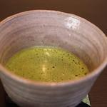 香炉庵 茶寮 - ドリンクは4種類くらいのなかから選べますよ。