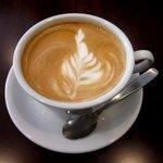 セイコードーコーヒー - ドリンク写真:カフェラテ!