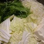 期間限定 『タンしゃぶ 野菜盛り』