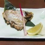 さかな市場 - 天然鯛のカマ(塩焼)
