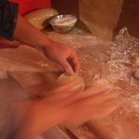 餃子の花家 - 当店の餃子は道産小100%そしてお店で手作り。