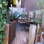 cafe 泉 - Café泉のテラス席