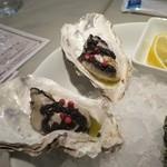 ガンボ&オイスターバー - 牡蠣マリネカクテル