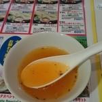 ナマステヒマール - サービスでいただいたスープ