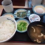 松屋 - 定番朝定食¥360(納豆)