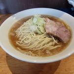 自家製麺 伊藤 - 比内鶏肉そば大