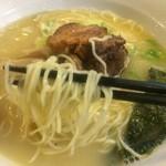 34955006 - 燕  参鶏湯麺  麺