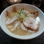 らぁ麺 飛鶏 - 鶏白湯(濃厚)全のせ 1,000円