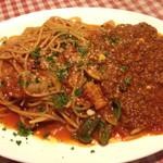 ばりお食堂 - ナポリタン&ミートソース