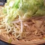 日吉 大勝軒 - 野菜せいろ 麺