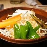 松尾ジンギスカン - 2014.11 野菜