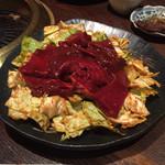 34958040 - 味噌ダレホルモンと焼き野菜の盛合せ