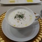 ビストロ ダイア - ほのかに甘い新玉ねぎのスープ