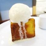 モード カフェ ギャマン - カスタードキューブ フレンチトースト ミルククリームチーズ