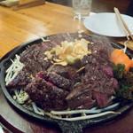 居酒屋がんこ - ステーキ
