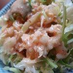 ぼんじゅーる - セットのサラダ(ゴマドレ)
