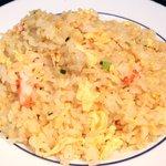 ドラゴンレッドリバー - 五色小籠包と蟹炒飯セット 1000円 の蟹炒飯