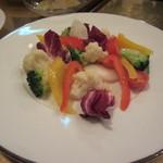 34961685 - 彩野菜のバーニャカウダ(4人前)
