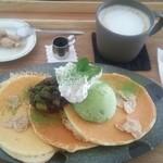 マ~クカフェ - あんこ塩ホイップ