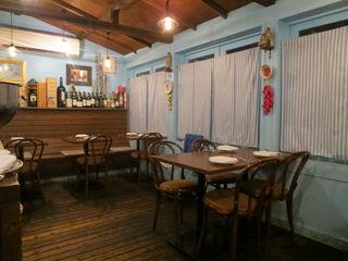 トラットリア・築地パラディーゾ - 場所柄に馴染んだ、まさに魚介トラットリアの雰囲気2