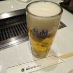 梅田明月館 - 生ビール