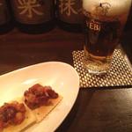 シーガル - お通し/生ビール