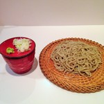 蕎麦 魯庵 - (2015.2) せいろ蕎麦