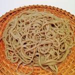 蕎麦 魯庵 - (2015.2) せいろ蕎麦(       アップ)