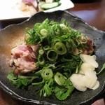炭火焼 みや澤 - 土佐はちきん地鶏のもも炙り