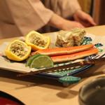桜田 - 津居山港のズワイ蟹 (2015/01)