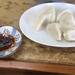 中華 つけ麺 はるき - 水餃子