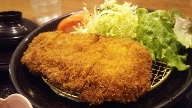 黒豚料理 あぢもり - 黒豚ロースかつ