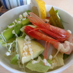 Saikyougenya - 御膳の海鮮サラダ