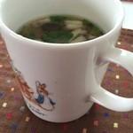 3rd フロア - ランチセットのスープです。