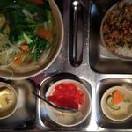 34968360 - 野菜のフォー+海老塩ご飯