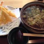 そばや - 天ぷら蕎麦¥1000
