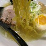 麺's 菜ヶ蔵 - 塩ラーメンの麺