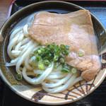 うわさの麺蔵 - かけ+お揚げ
