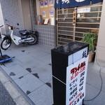 兼六寿司 - 早稲田通りにあります。